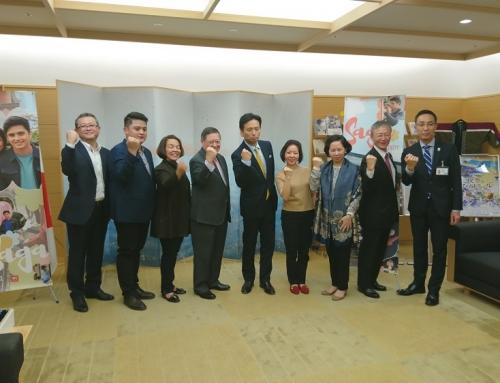 ドミンゲス財務大臣が佐賀県を訪問
